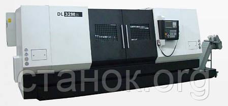 DMTG DL M токарный станок с ЧПУ по металлу с наклонной станиной верстат дмтг дл, фото 2