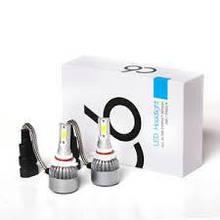 Автомобильные светодиодные лампы  C1-F6 HВ4 9006 72 Вт 7600LM