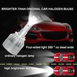 Автомобильные светодиодные лампы  C1-F6 HВ4 9006 72 Вт 7600LM, фото 2