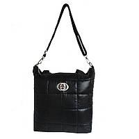 Стеганая сумка черная