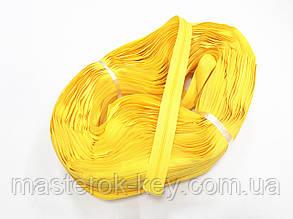 Молния спиральная рулонная №5 цвет желтый #001
