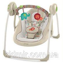 Качели кресло-качель бежевая Bright Starts Comfort & Harmony