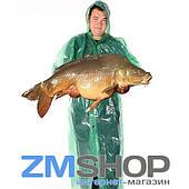 Плащ дождевик рыбацкий на липучках (100 мкм)