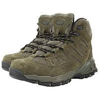 """Ботинки Mil-Tec Trooper 5"""" олива нубук"""
