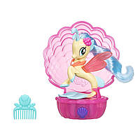 My Little Pony мини-игровой набор Мерцание Принцесса Скайстар The Movie Princess Skystar Sea Song C0684/C1834