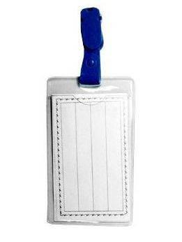 Бейдж  Economix (55 х 90мм) вертикальный, с клипом., фото 2