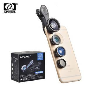 Объектив для телефона Apexel 5в1 с оптических линз