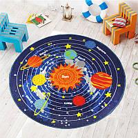 Коврик для детской комнаты Solar System 100 х 100 см Berni