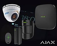 Комплект сигнализации Ajax StarterKit черный+ IP камера