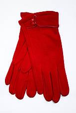 Женские стрейчевые перчатки Красные 118, фото 3