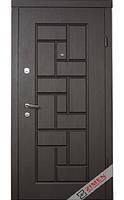 Двери входные Zimen Эконом - Oldi (венге темный) 860*2030 мм., фото 1