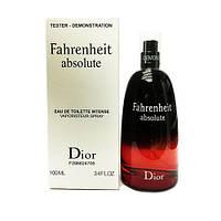 TESTER мужской Christian Dior Fahrenheit Absolute 100 мл
