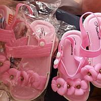 Детские резинов босоножки для девочек. Дитячі босоніжки для дівчинки 197116b202073