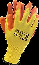 Рабочие перчатки RTELA YP покрытые латексом REIS Польша