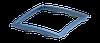 "Рамка декоративная синий металлик серия""ЭЛЕГАНТ"" ТМ""MARSHEL"""