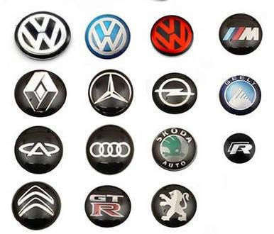 Логотипы для авто ключей