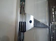 Перемычка (балка) 90см хром для рельсового торгового оборудования