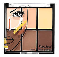 Набор корректоров Ruby Rose Conceale Correct Contour Palette (HB-8088) № 02, фото 1