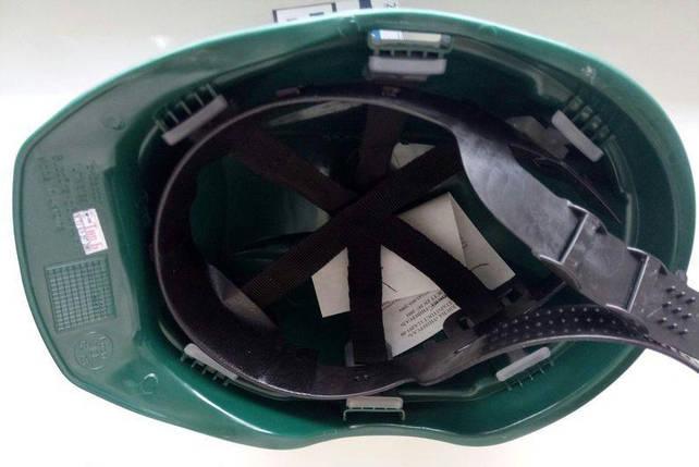 Каска строительная Универсал зеленая Тип Б, фото 2