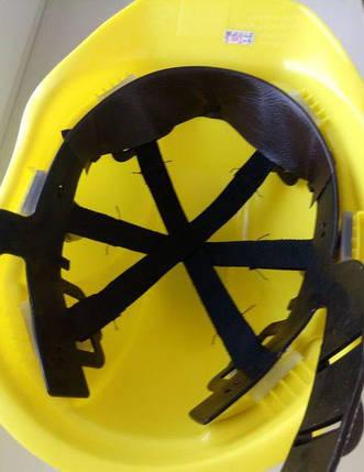 Каска строительная Универсал желтая Тип Б, фото 2