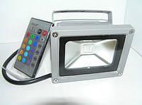 Светодиодный матричный прожектор 10W RGB, фото 2