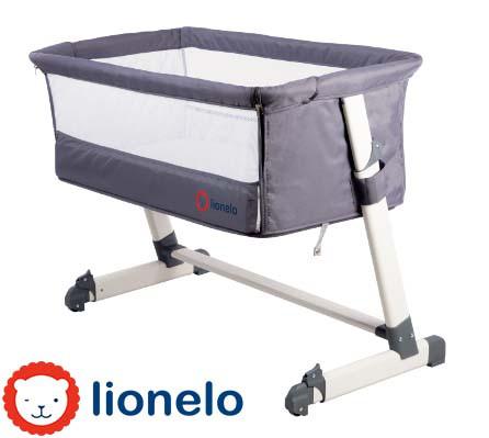 Детская кроватка Lionelo Theo Grey Польща