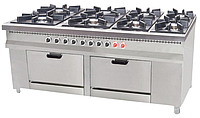 Плита газовая  Pimak МО15-8 (конфорки 40х40 см) с 2-мя духовками