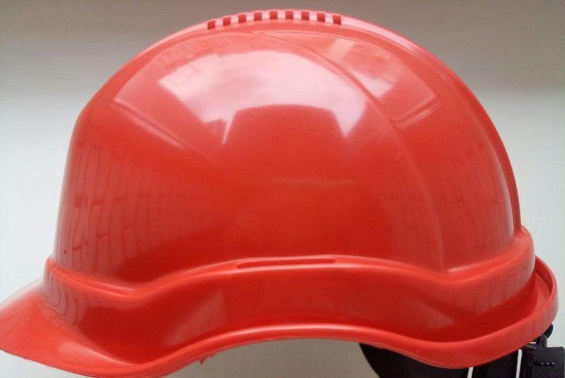 Каска строительная Универсал красная Тип Б