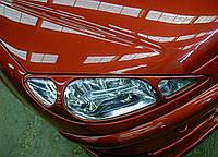 Очки (накладки фар) для Peugeot 206