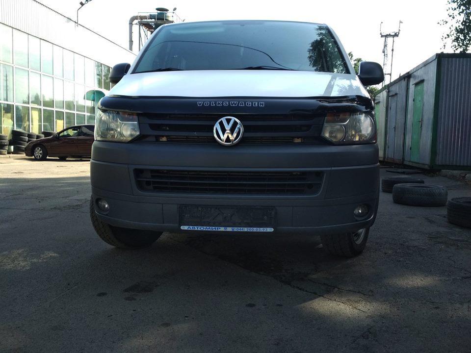 Volkswagen Transporter Т5 Установка парктроникаSteelmate SM PTS410M8 black