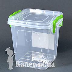 Пищевой контейнер с крышкой 1,8л А-10