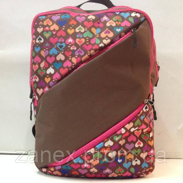Рюкзак для девочек с узорами Zanex