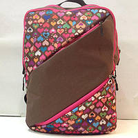 Рюкзак для девочек с узорами Zanex, фото 1