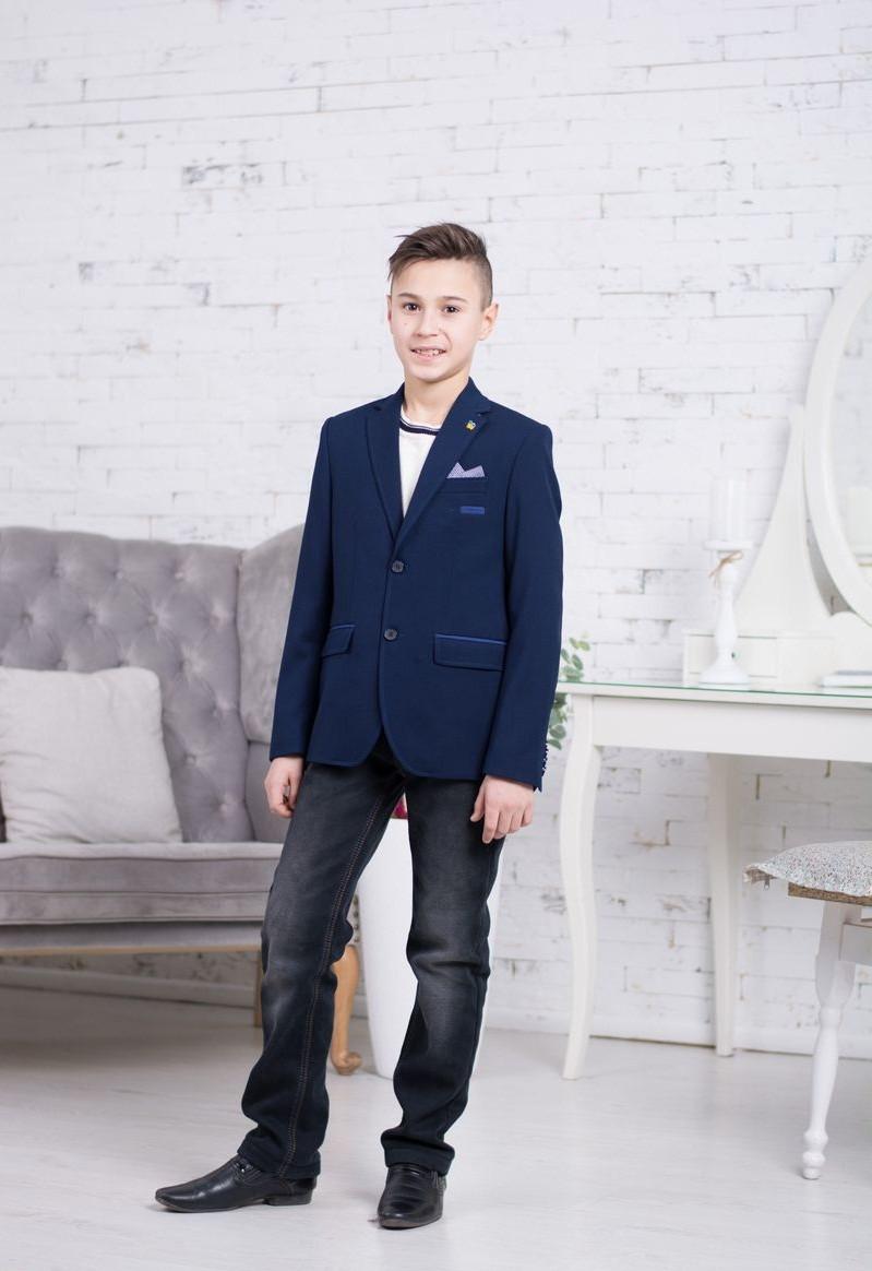 Пиджак для мальчика ТМ НОВАЯ ФОРМА  CHAK № 122.1 (р. 122, 146)
