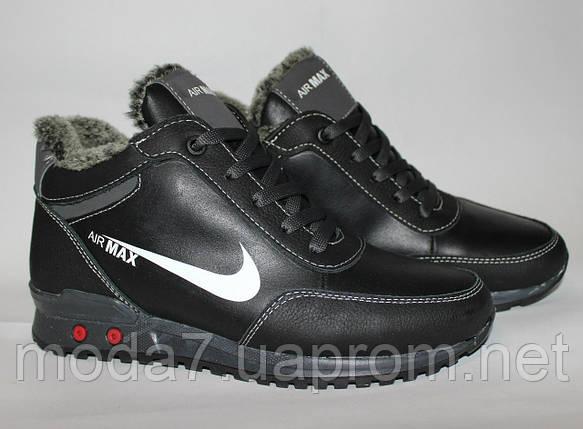 f57476424 Женские подростковые зимние ботинки Nike Air Max 36р реплика, фото 2