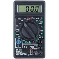 Цифровой мультиметр тестер DT 838