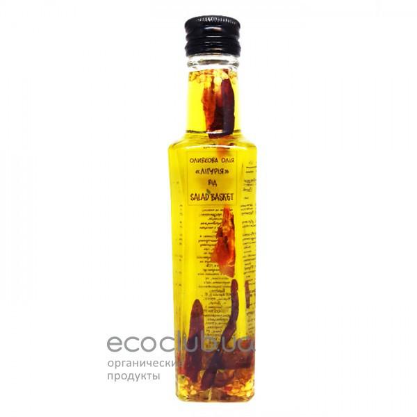Масло оливковое Лигурия Salad Basket 200мл