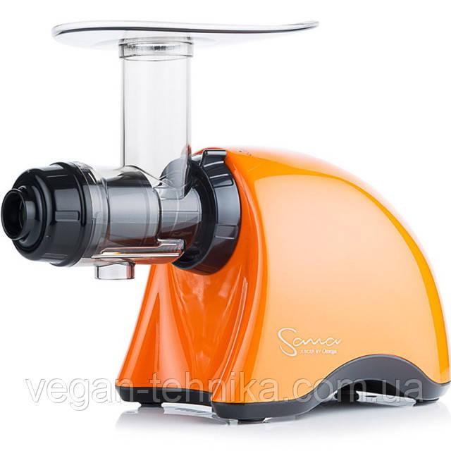 Шнековая соковыжималка Sana Juicer by Omega EUJ-707 Pearl Orange