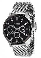 Чоловічі наручні годинники Guardo S01897(m) SB
