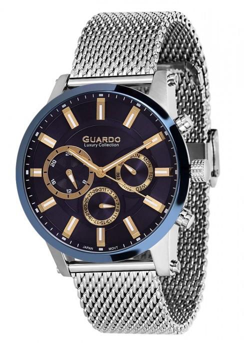 Мужские наручные часы Guardo S01897(m) SBl
