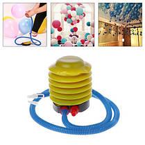 Насос ножной для резиновых надувных изделий, d -10см, фото 2