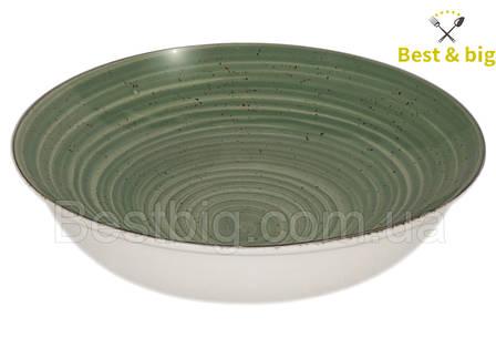 Тарелка для первого (Олива) - 180 мм, 500 мл (Farn)
