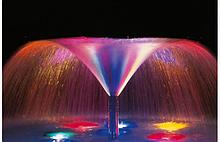Аксесуари для фонтанів, басейнів, водойм, водоспадів