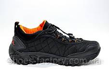 Кроссовки мужские в стиле Merrell Ice Cap Moc 2, Black\Orange Термо, фото 3