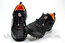 Кроссовки мужские в стиле Merrell Ice Cap Moc 2, Black\Orange Термо, фото 2