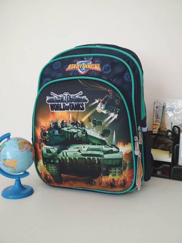 Рюкзак школьный с анатомической спинкой для мальчика World of Tanks 40*30*19 см