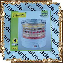 Сушилка для фруктов Maestro MR-765 245 Вт.