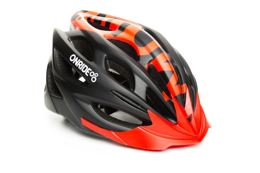Шлем ONRIDE Mount матовый черный/красный