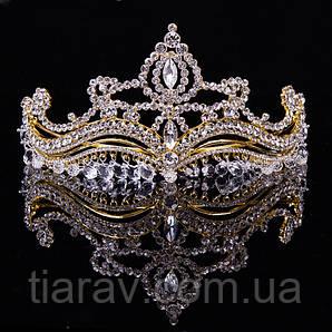 Діадема тіара ЕВЕН шикарна корона на голову