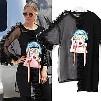 Блуза женская Oversize итальянский бренд